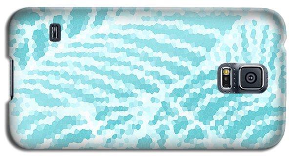 Aqua Pool Leaves Galaxy S5 Case