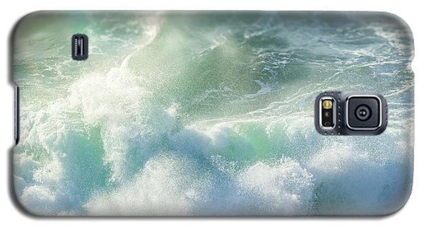 Galaxy S5 Case featuring the photograph Aqua Surge by Amy Weiss