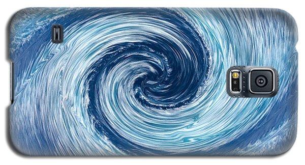 Aqua Swirl Galaxy S5 Case