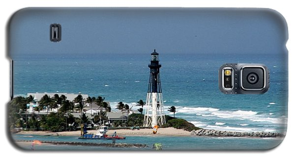 Aqua Water At The Lighthouse Galaxy S5 Case