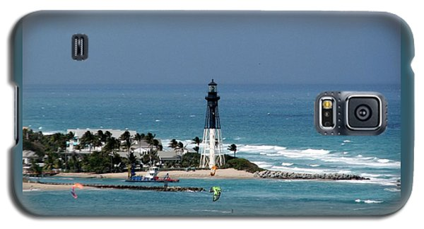 Aqua Water At Hillsboro Lighthouse In Florida Galaxy S5 Case
