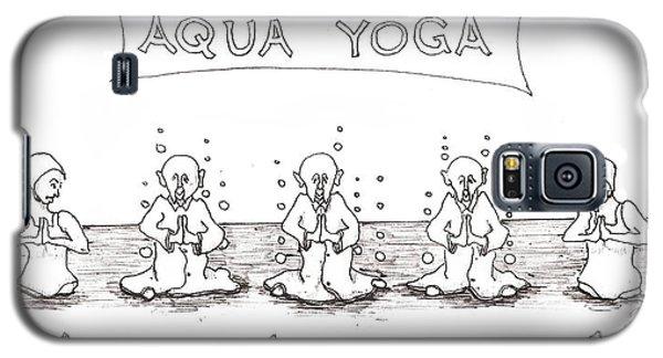 Aqua Yoga Galaxy S5 Case