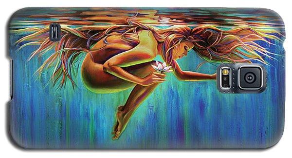 Aquarian Rebirth II Divine Feminine Consciousness Awakening Galaxy S5 Case