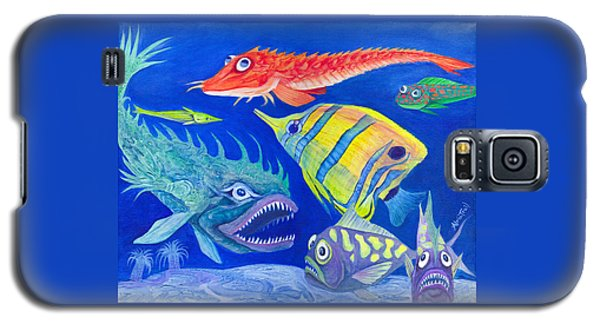 Aquarium 1 Galaxy S5 Case by Adria Trail