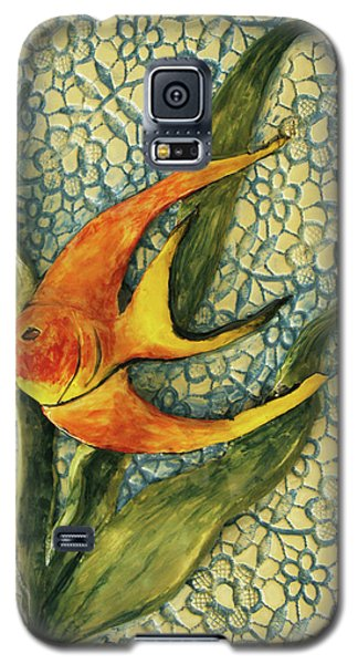 Galaxy S5 Case featuring the photograph Aquarium On The Wall by Itzhak Richter
