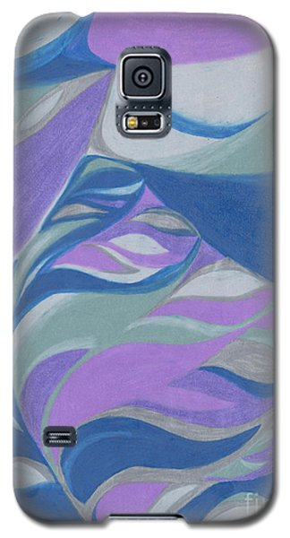 Galaxy S5 Case featuring the drawing Aqueous by Kim Sy Ok