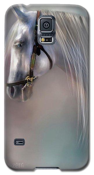 Galaxy S5 Case featuring the digital art Arabian Grey by Kari Nanstad