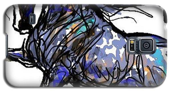 Arabian In Blue Galaxy S5 Case