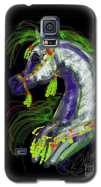 Arabian With Green Tassles Galaxy S5 Case