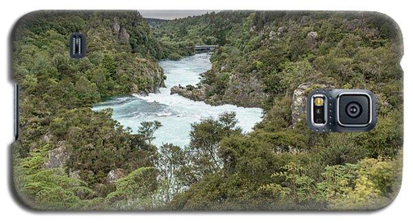 Galaxy S5 Case featuring the photograph Aratiatia Rapids by Gary Eason