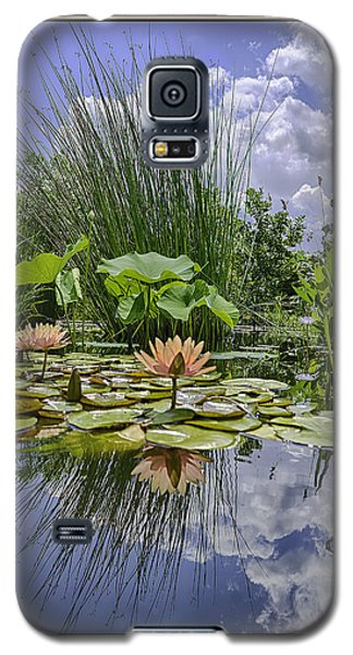 Arboretum Pond Galaxy S5 Case by R Thomas Berner