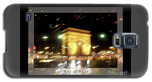 Arc De Triomphe By Bus Tour Greeting Card Poster V1 Galaxy S5 Case