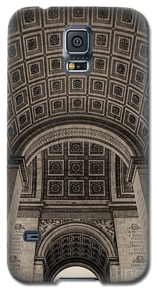 Galaxy S5 Case featuring the photograph Arc De Triomphe Interior by Nigel Fletcher-Jones