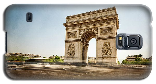 Galaxy S5 Case featuring the photograph Arc De Triumph by Hannes Cmarits