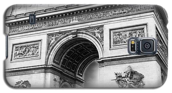 Arch Of Triumph - Paris - Black And White Galaxy S5 Case