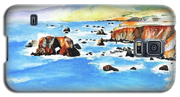 Arched Rock Sonoma Coast California Galaxy S5 Case