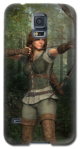 Archer In The Forest Galaxy S5 Case
