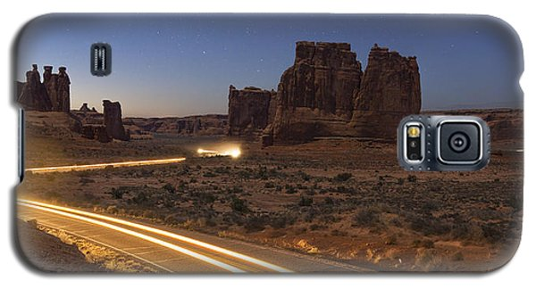 Arches Evening Exit Galaxy S5 Case