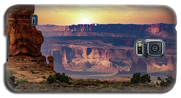 Arches National Park Canyon Galaxy S5 Case