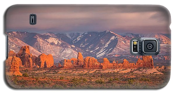 Arches National Park Pano Galaxy S5 Case