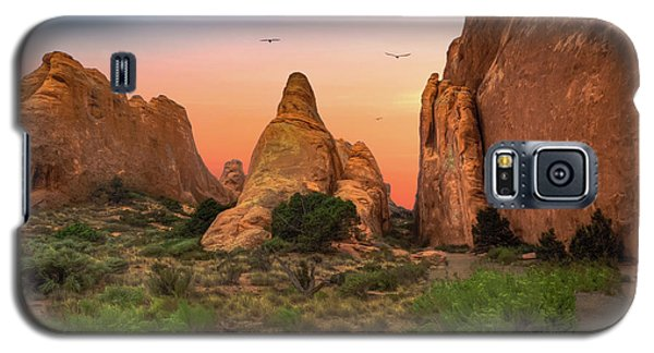 Arches National Park Sunset Galaxy S5 Case