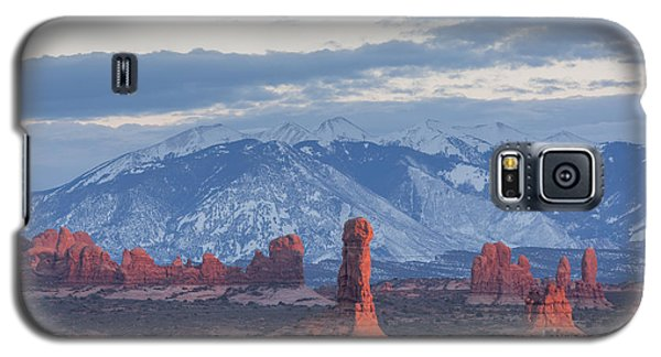Arches National Park, Sunset Galaxy S5 Case
