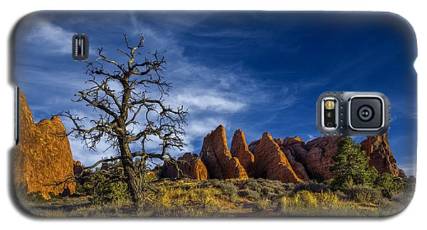 Galaxy S5 Case featuring the photograph Arches National Park by Wendell Thompson