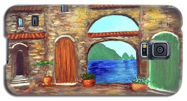 Arches Of Amalfi  Galaxy S5 Case by Larry Cirigliano