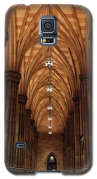 Galaxy S5 Case featuring the photograph Arches Of St. Patrick's Cathedral by Jessica Jenney