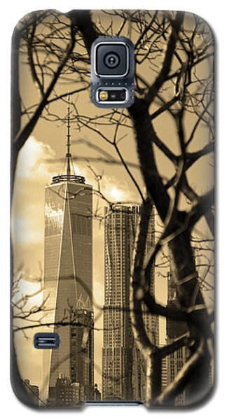 Galaxy S5 Case featuring the photograph Architectural by Mitch Cat
