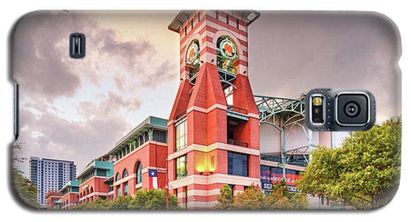 Architectural Photograph Of Minute Maid Park Home Of The Astros - Downtown Houston Texas Galaxy S5 Case