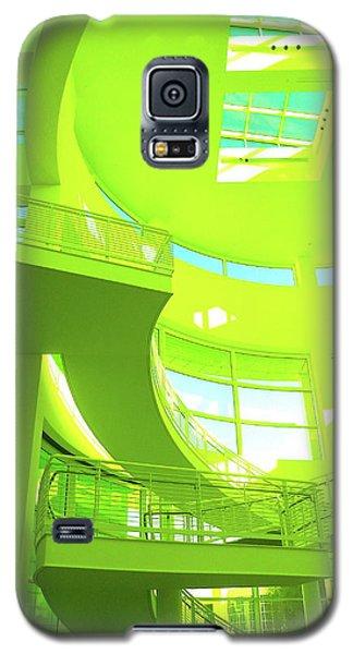 Green Splash Architecture Galaxy S5 Case