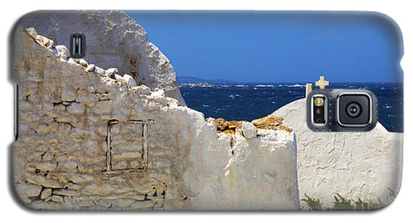 Galaxy S5 Case featuring the photograph Architecture Mykonos Greece 2 by Bob Christopher