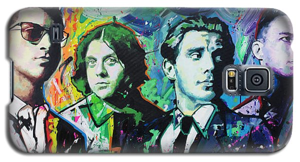 Galaxy S5 Case featuring the painting Arctic Monkeys by Richard Day
