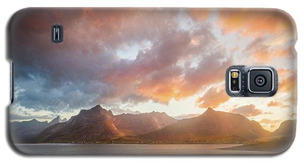 Arctic Susnset Galaxy S5 Case by Maciej Markiewicz