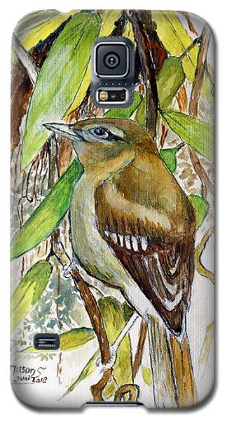 Arctic Warbler Galaxy S5 Case