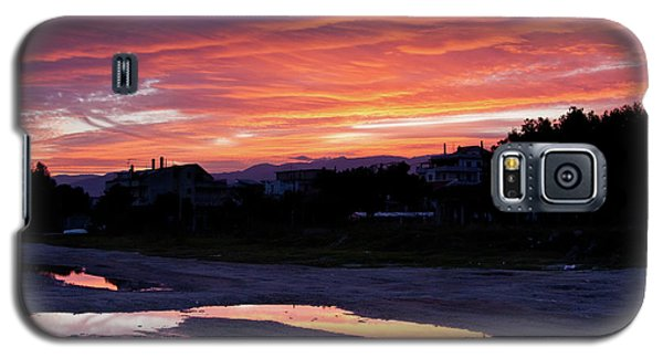 Galaxy S5 Case featuring the photograph Ardore, Calabria Town by Bruno Spagnolo