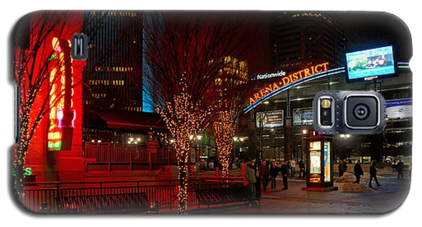 D66l-4 Arena District Photo Galaxy S5 Case