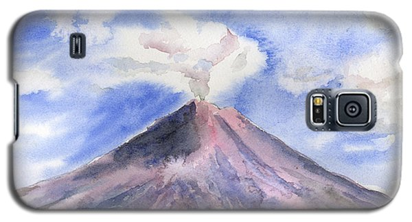 Arenal Volcano Costa Rica Galaxy S5 Case by Arline Wagner
