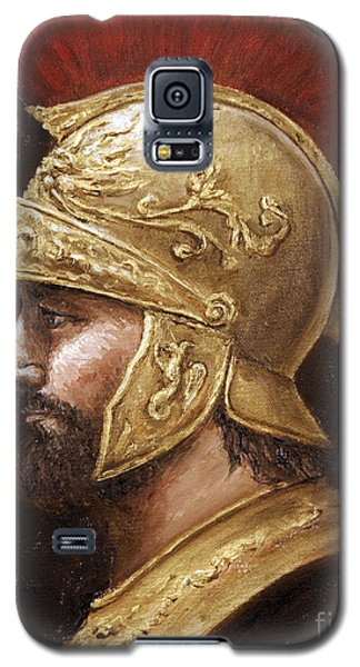 Galaxy S5 Case featuring the painting Ares by Arturas Slapsys