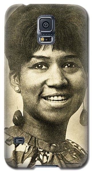 Aretha Franklin Queen Of Soul Galaxy S5 Case