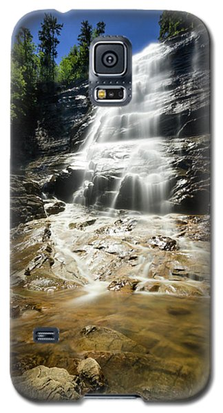 Galaxy S5 Case featuring the photograph Arethusa Falls by Robert Clifford