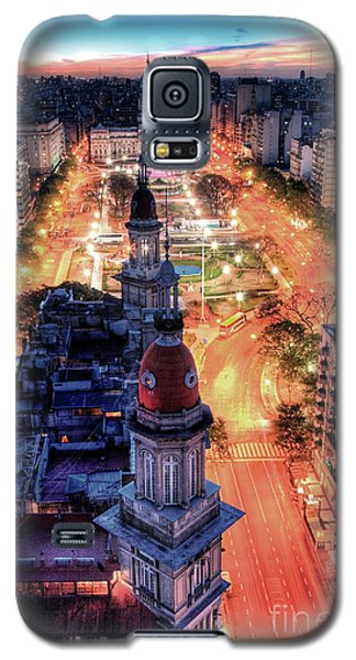 Galaxy S5 Case featuring the photograph Argentina National Congress by Bernardo Galmarini
