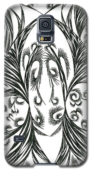 Galaxy S5 Case featuring the drawing Argos by Robert Nickologianis