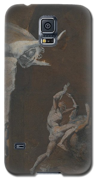 Ariadne Watching The Struggle Of Theseus With The Minotaur Galaxy S5 Case
