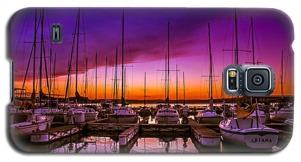 Ariana's Sunset Galaxy S5 Case by TK Goforth