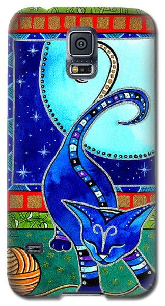 Aries Cat Zodiac Galaxy S5 Case