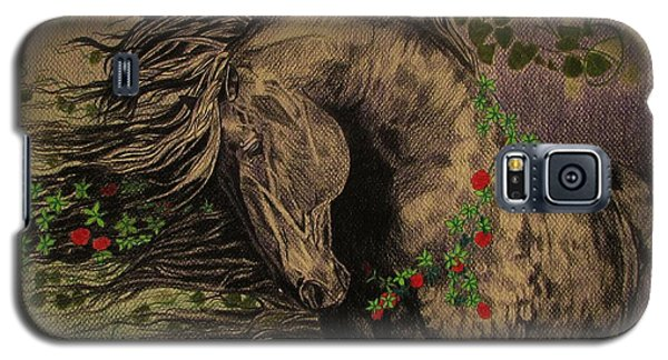 Aristocratic Horse Galaxy S5 Case by Melita Safran