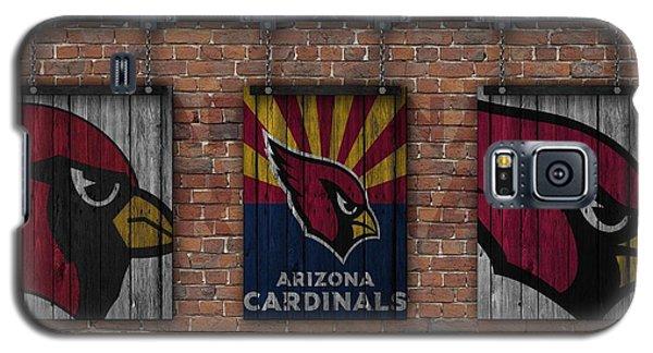 Arizona Cardinals Brick Wall Galaxy S5 Case by Joe Hamilton
