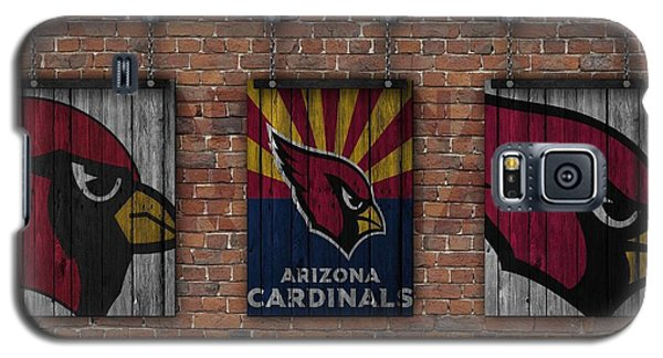 Arizona Cardinals Brick Wall Galaxy S5 Case by Joe Hamilton